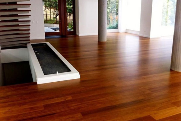 Suelo de parquet instalado en vivienda de Madrid