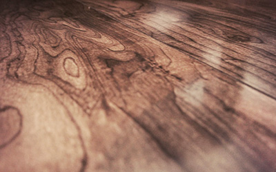 Suelo de tarima de madera