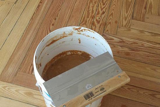 Barnizado de suelos de madera